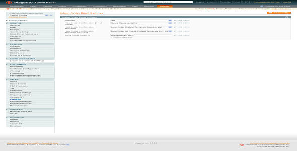 Send New Order Email To Admin by Mage_Magician (Magento extension)