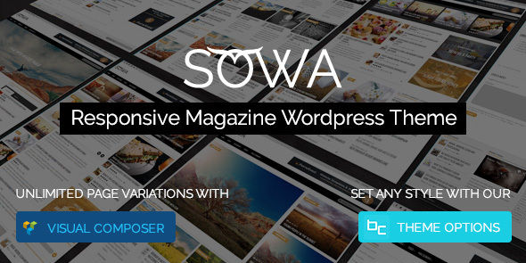 Sowa by Beocode (magazine WordPress theme)