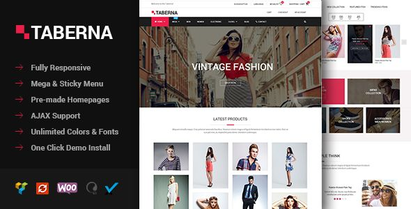 Taberna by Burakkaptan (multi-purpose WordPress theme)