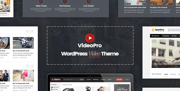 VideoPro by Cactusthemes (magazine WordPress theme)