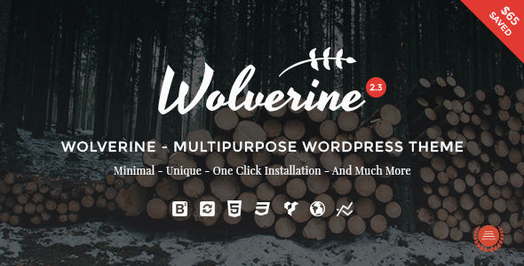 Wolverine by G5Theme (multi-purpose WordPress theme)