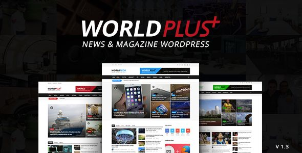 WorldPlus by 2codeThemes (magazine WordPress theme)
