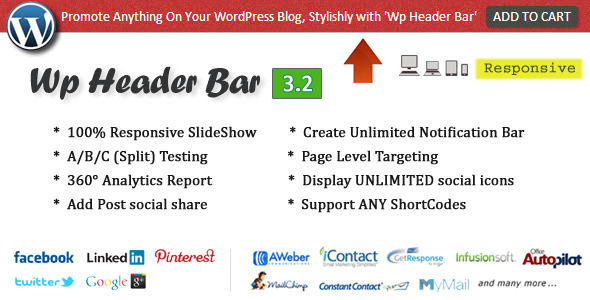 Wp Header Bar by Pixelacehq (WordPress advertising plugin)