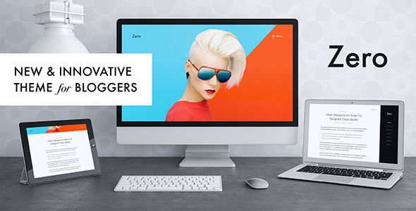 Zero by FRESHFACE (magazine WordPress theme)