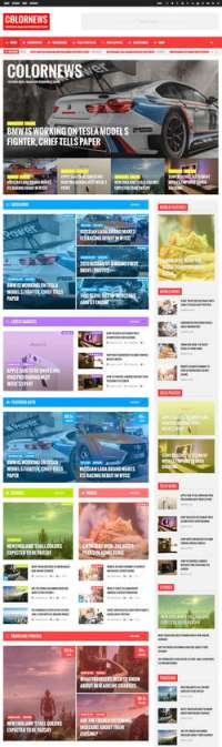 ColorNews - News - Magazine WordPress Theme