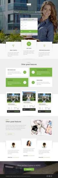 DOM - Real Estate Pagewiz Landing Page