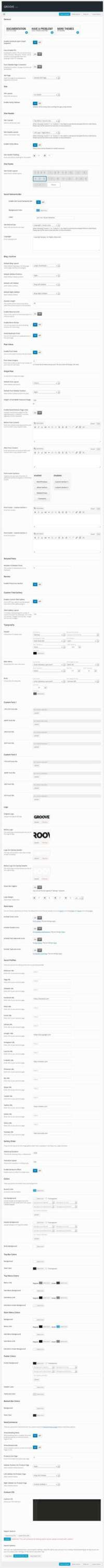 GROOVE - Clean Newspaper - Magazine Theme