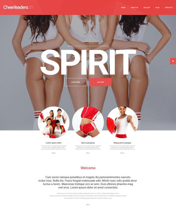 energetic sports wordpress themes