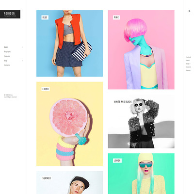 Addison (WordPress theme for photogaphers) Item Picture