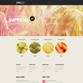 Agriculture WordPress Theme (farming and agricultural WordPress theme) Item Picture