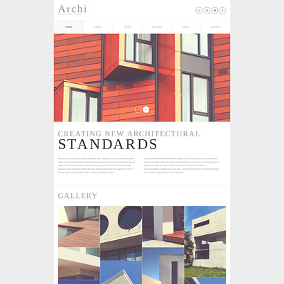 Architectural Company Joomla Template (Joomla template for architecture ) Item Picture