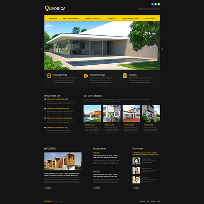 Architecture Agency Joomla Template (Joomla template for architecture ) Item Picture