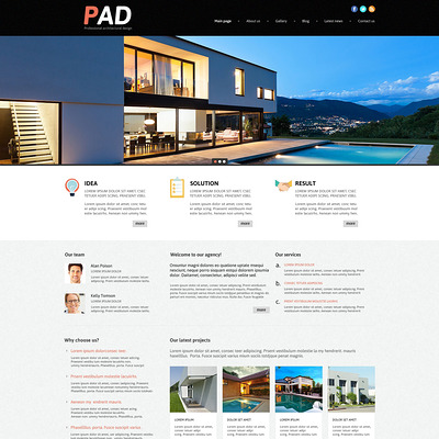 Architecture Joomla Template (Joomla template for architecture ) Item Picture