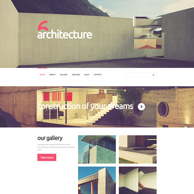 Art of Building Joomla Template (Joomla template for architecture ) Item Picture