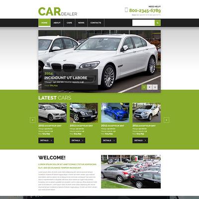 Car Dealer Joomla Template (Joomla template for car, vehicle, and automotive websites) Item Picture