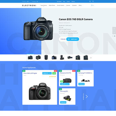 Electroni (PrestaShop theme for electronics stores) Item Picture