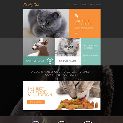 Exotic Pets Drupal Template (Drupal theme for pets and animals) Item Picture