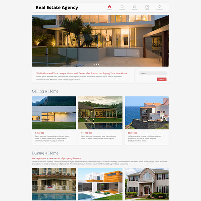 Home Bureau Joomla Template (Joomla theme for real estate) Item Picture