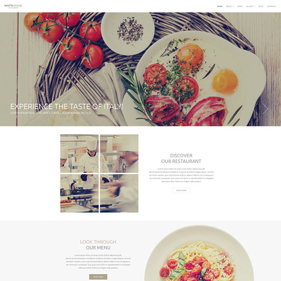 Italian Cuisine Drupal Template (Drupal theme for restaurants) Item Picture
