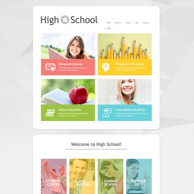 Schoolmaster WordPress Theme (education WordPress theme) Item Picture