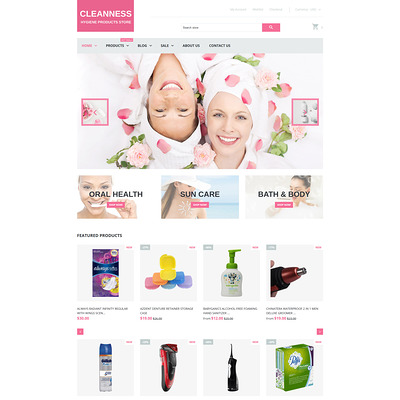 Spa Accessories Responsive Shopify Theme (Shopify theme for cosmetics and beauty products) Item Picture
