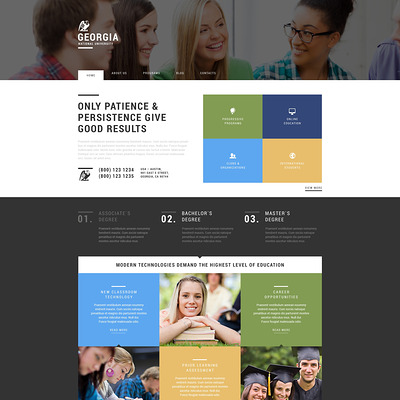 University WordPress Theme (education WordPress theme) Item Picture