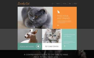 best drupal themes pets animals feature