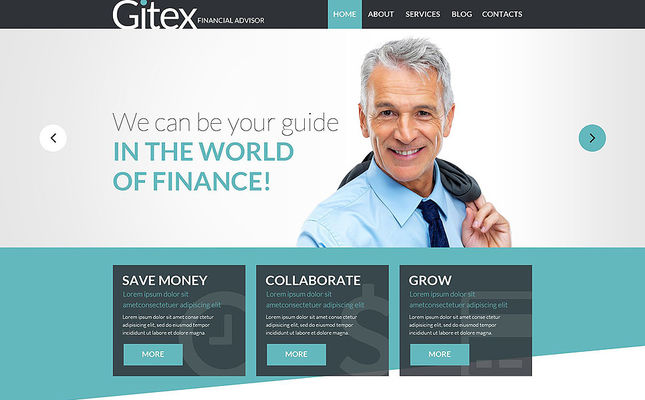 best financial websites joomla templates feature