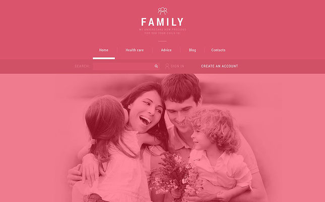 best joomla templates family websites feature