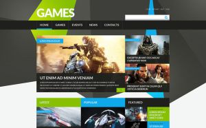 best joomla templates gaming websites feature