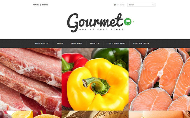 best prestashop themes food stores feature