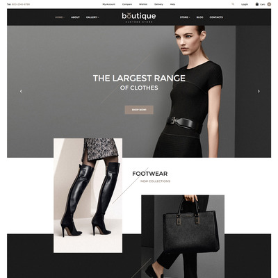 Boutique WooCommerce Theme (WooCommerce theme for selling clothing for men and women) Item Picture