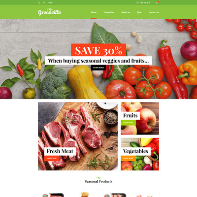 Greenville (WooCommerce theme for selling food and spices) Item Picture