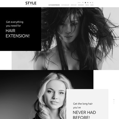 Hair and Beauty Salon OpenCart Template (OpenCart theme for selling cosmetics, hair products, and perfumes) Item Picture