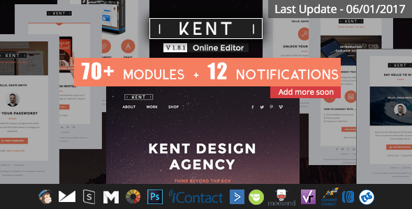 Kent (email template) Item Picture