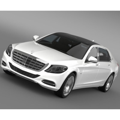 Mercedes Maybach S600 X222 2015 (3D model of a car, vehicle, or automobile) Item Picture