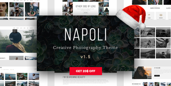 Napoli (WordPress theme for photographers) Item Picture