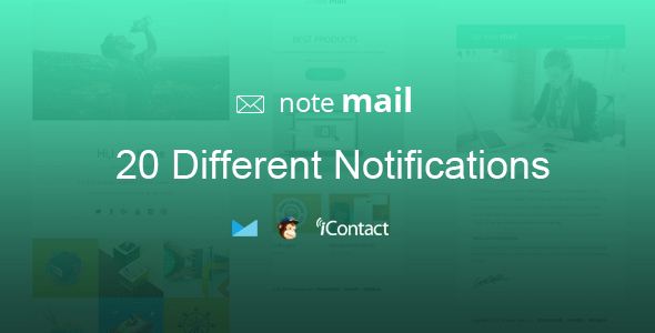 Note Mail (email template) Item Picture