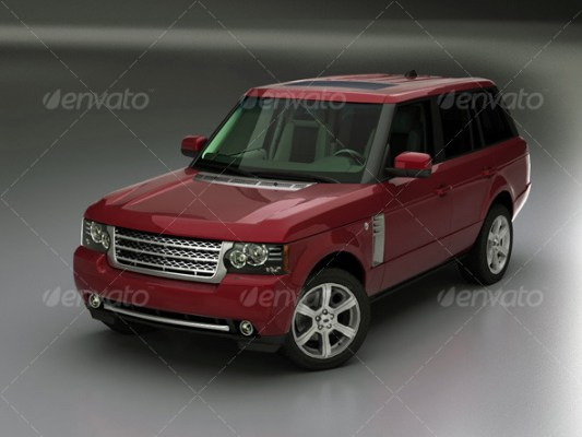 Range Rover 2010 (3D model of a car, vehicle, or automobile) Item Picture