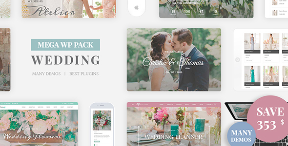 Wedding Industry (WordPress theme) Item Picture