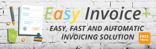 Easy Invoice+ shopify apps for creating invoices receipts shipping labels packing slips