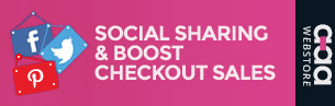 Social Sharing & Boost Checkout Sales shopify apps