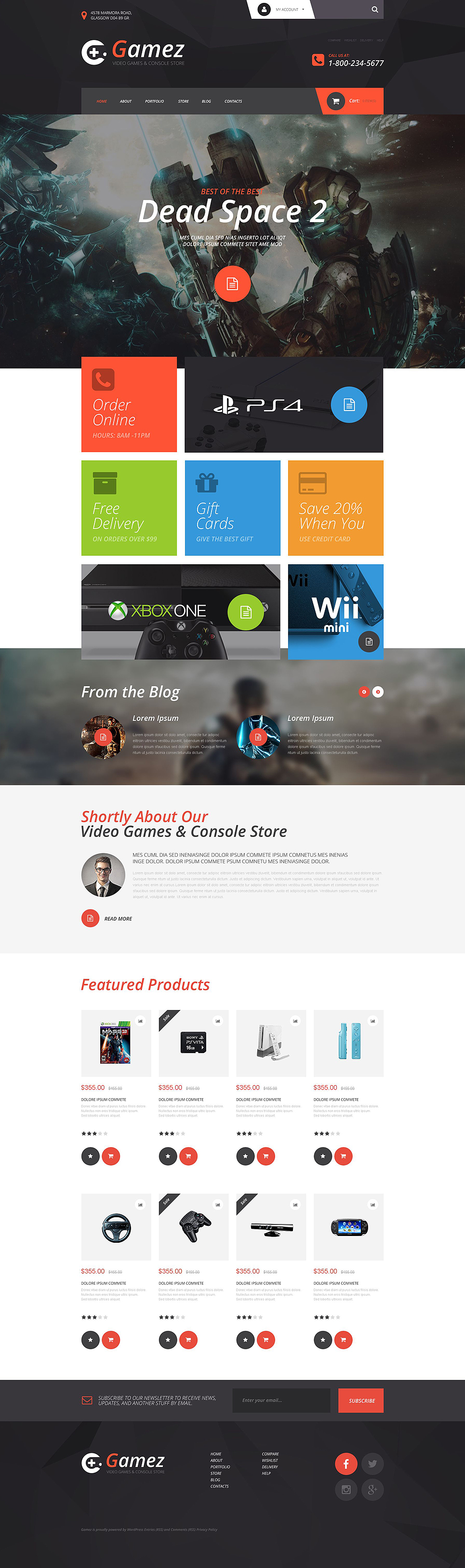 Gamez (template for WooCommerce) Item Picture