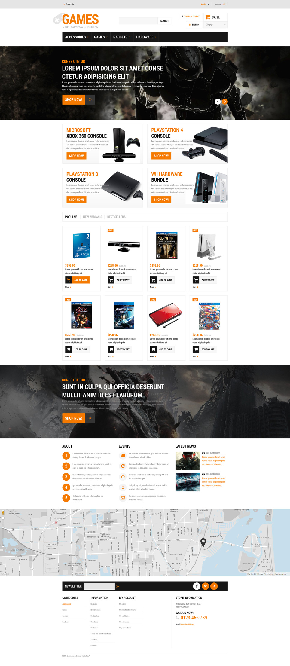 Gaming Board (ecommerce theme for PrestaShop) Item Picture