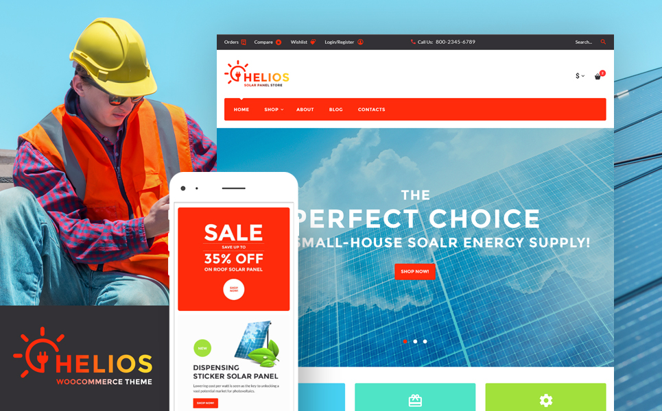 Helios (template for WooCommerce) Item Picture