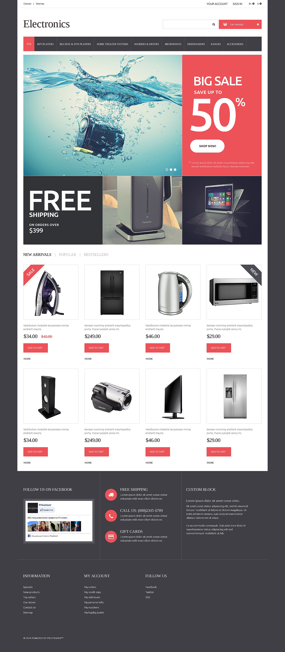 Home Electronics Online Shop