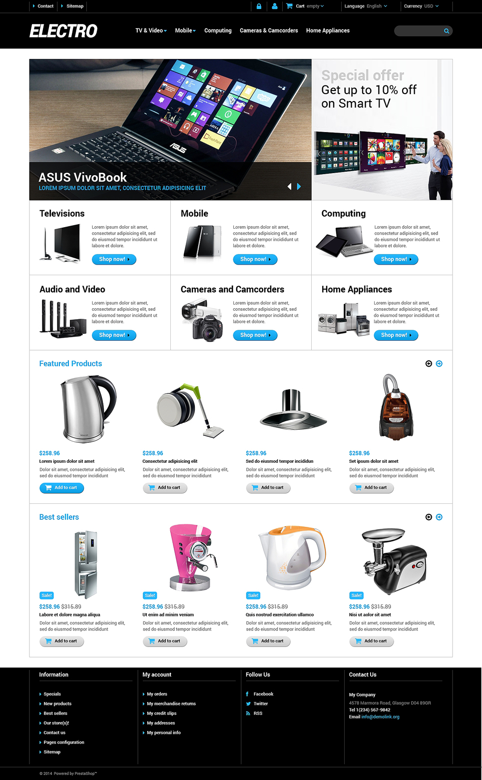Home Electronics Store (theme for PrestaShop) Item Picture