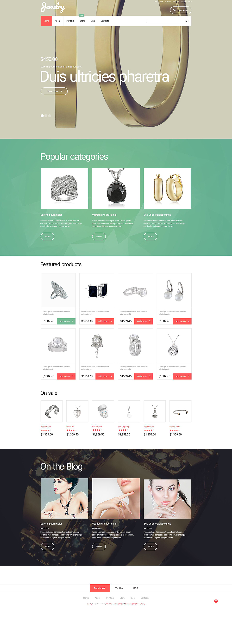 Jewelry (template for WooCommerce) Item Picture