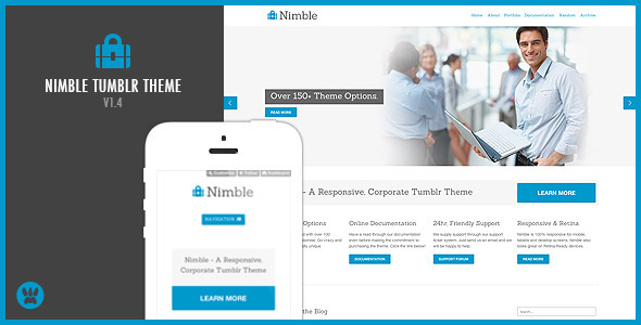 Nimble (Tumblr theme) Item Picture