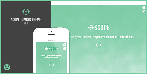 Scope (Tumblr theme) Item Picture